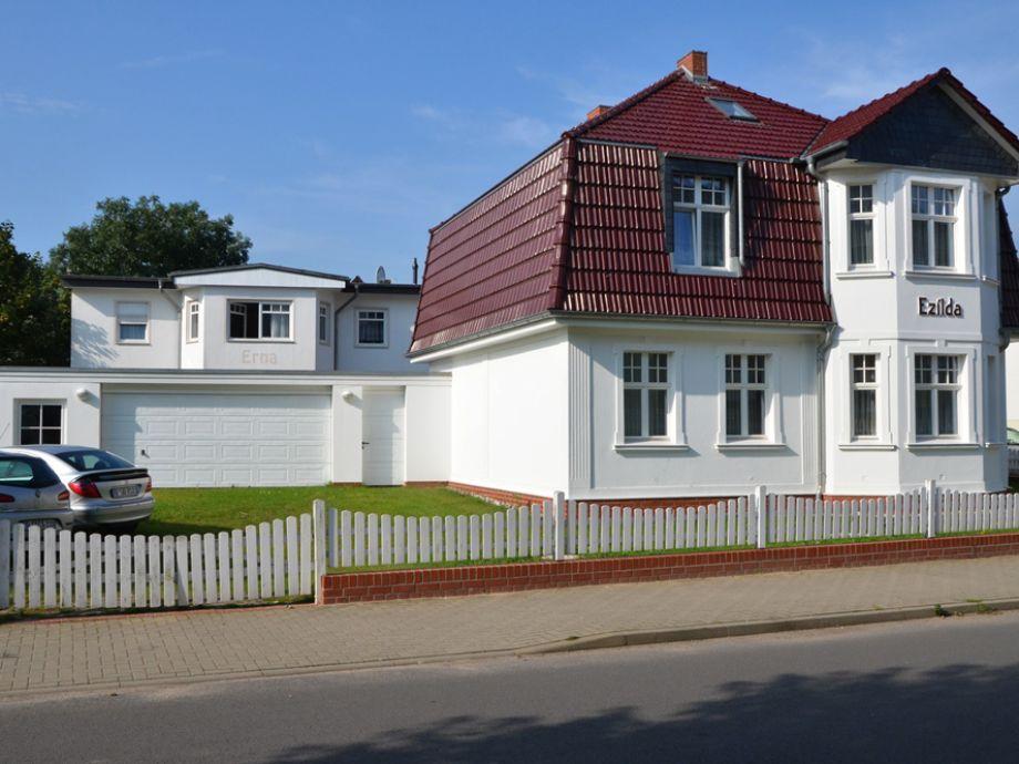 """Haus """"Ezilda"""" - große Ferienwohnung im Erdgeschoss"""