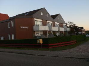 Ferienwohnung Terrassen-Fewo mit Parkplatz-Nr. 1 im Haus Norderoog