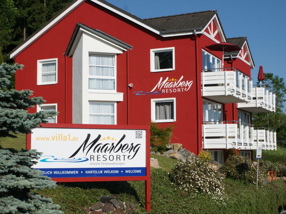 Maarberg Resort, stilvolle Ferienwohnung mit Seeblick