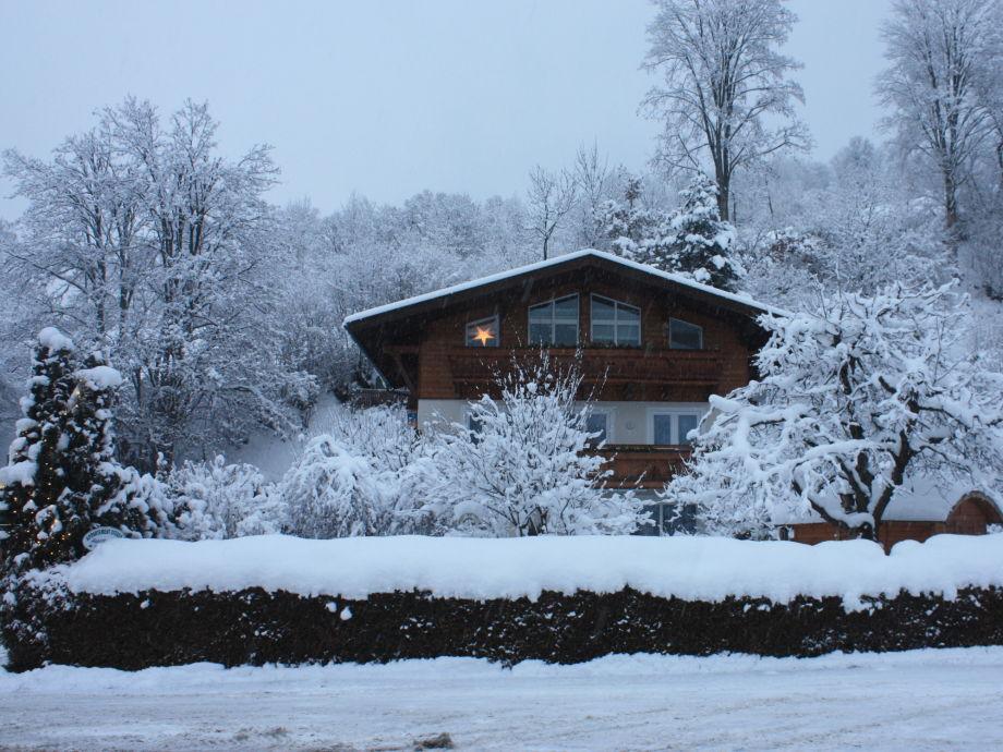 Außenaufnahme im Winter