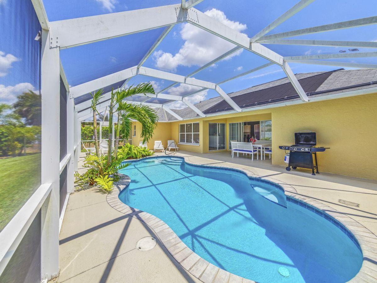 Ferienhaus Villa Paradise, Florida Cape Coral Fort Myers Naples ...