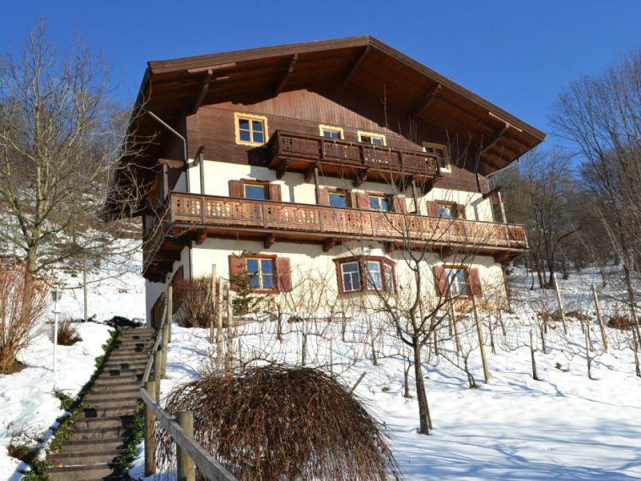 Haus Antonia im Winter