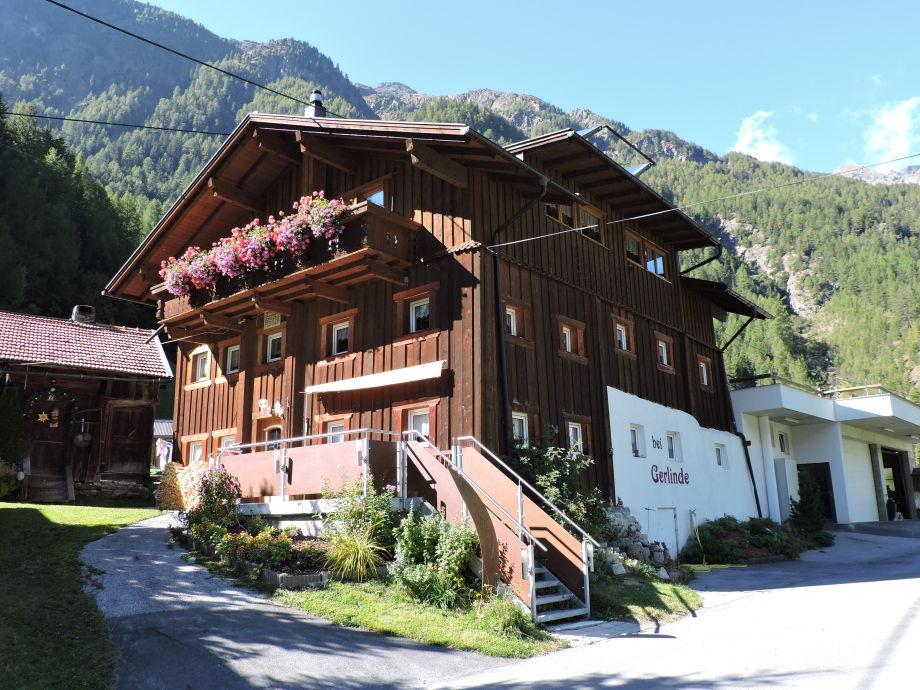 Ferienhaus Gerlinde sölden