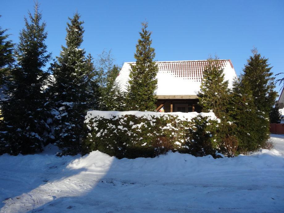 Auch im Winter ein idyllisches Zuhause