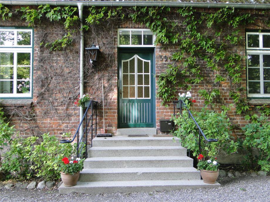 Eingang zu den Ferienwohnungen