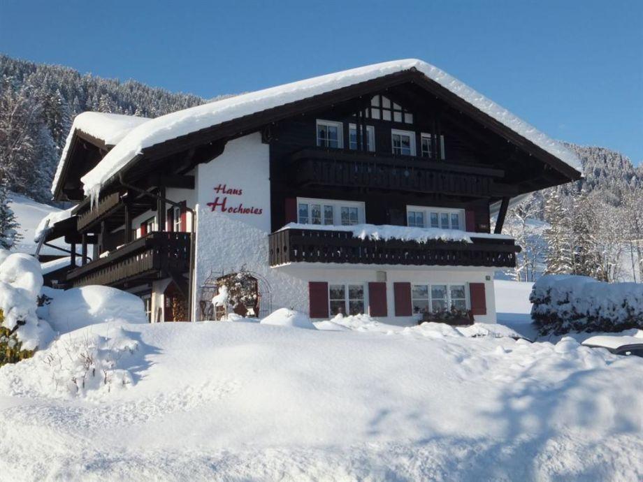 Winterzauber im Haus Hochwies in Bolsterlang