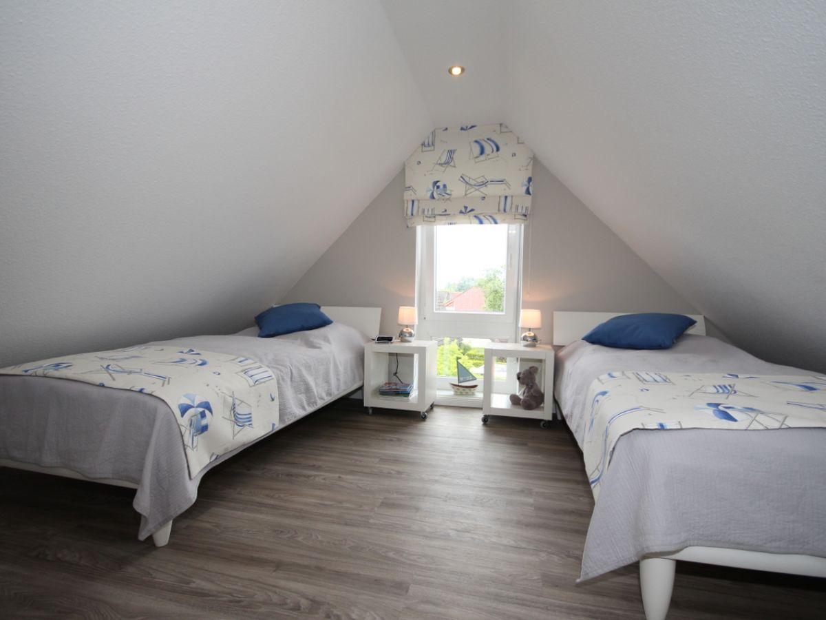 Ferienwohnung koje nordsee norden norddeich for Schlafzimmer dachgeschoss