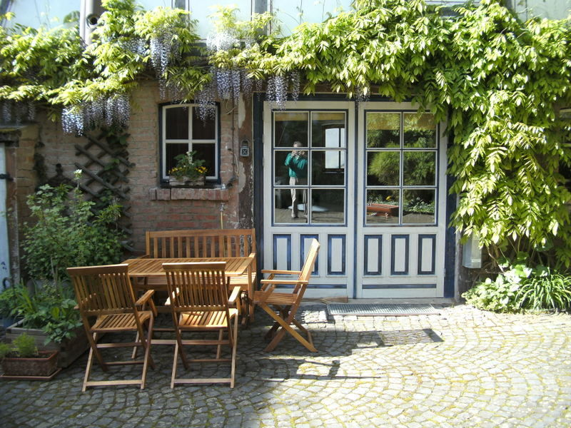 "Holiday apartment ""WaldrebenNest"" im Fachwerkhof"