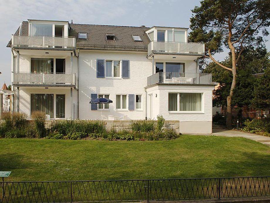 """Haus """"von Ardenne"""" Promenadenseite"""