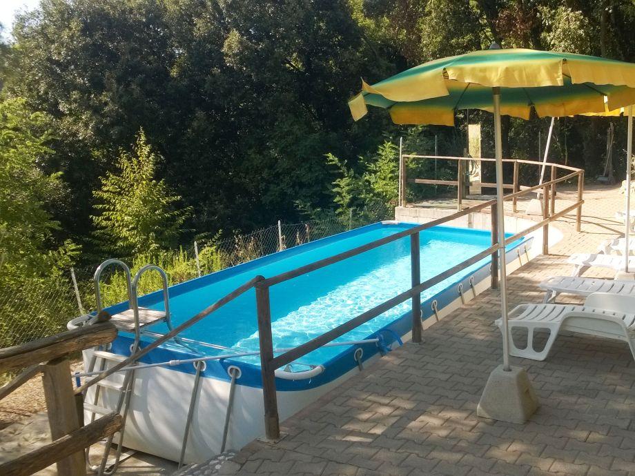 hübscher und gepflegter Pool