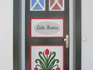 Ferienhaus Lütte Hanna
