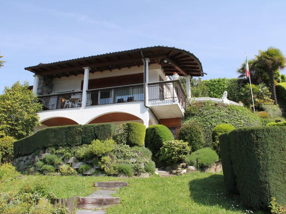 Haus, vom Garten aus
