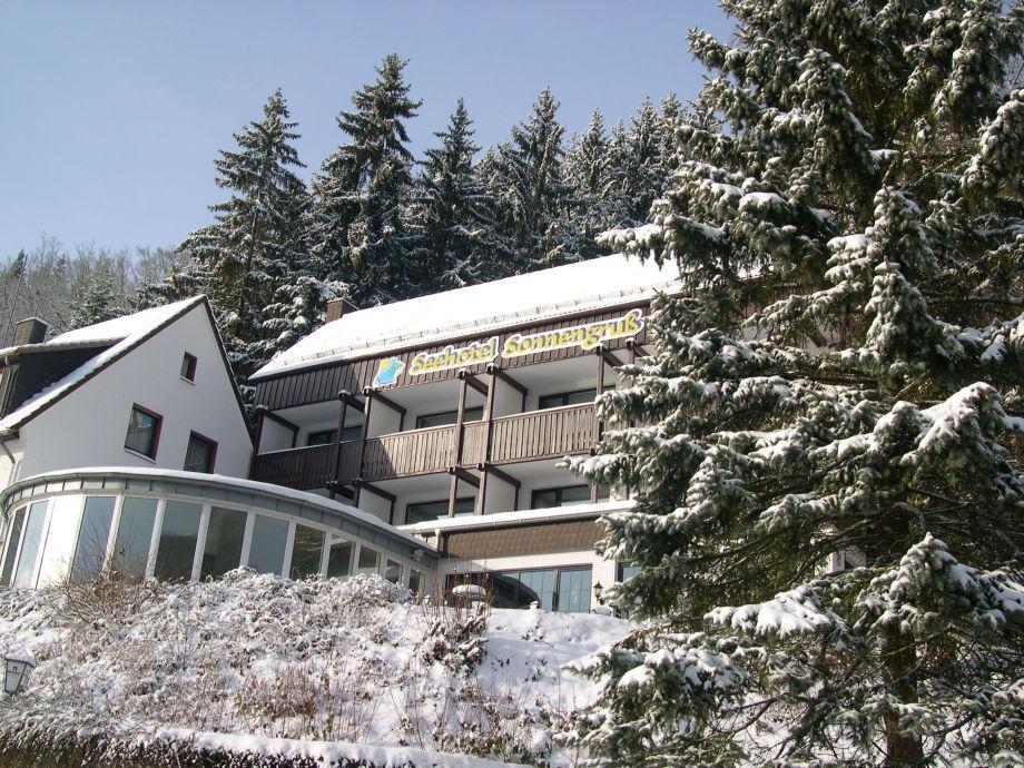 Sonnengruss im Winter
