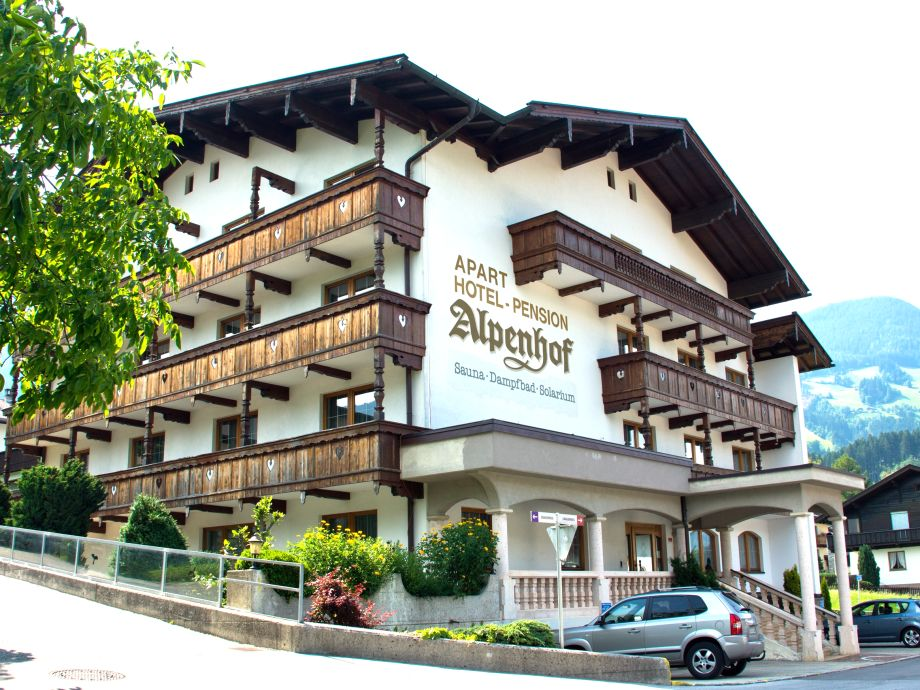 Außenansicht des Apartments Alpenperle