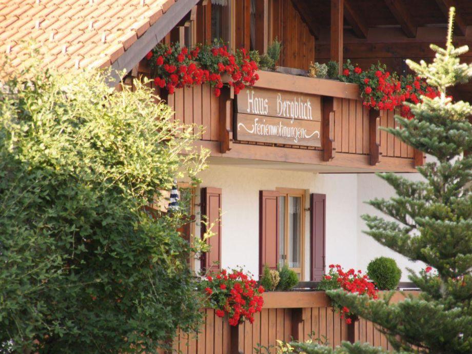 Außenaufnahme Allgäuer Bergblick Ferienwohnung 9