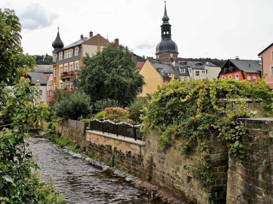 Ferienwohnung Haus Kaiserkrone Dachgeschoss Sächsische