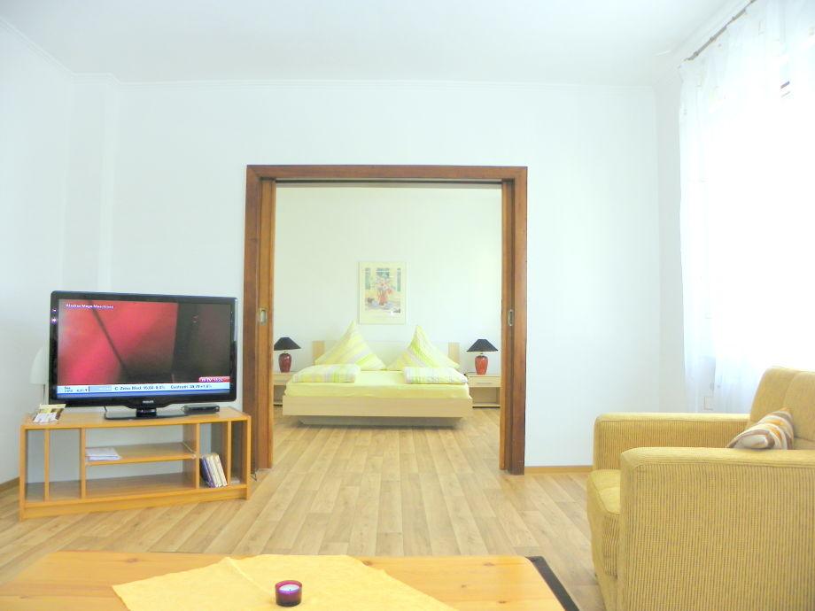 Ferienwohnung für 2 Personen mit Doppelschlafzimmer