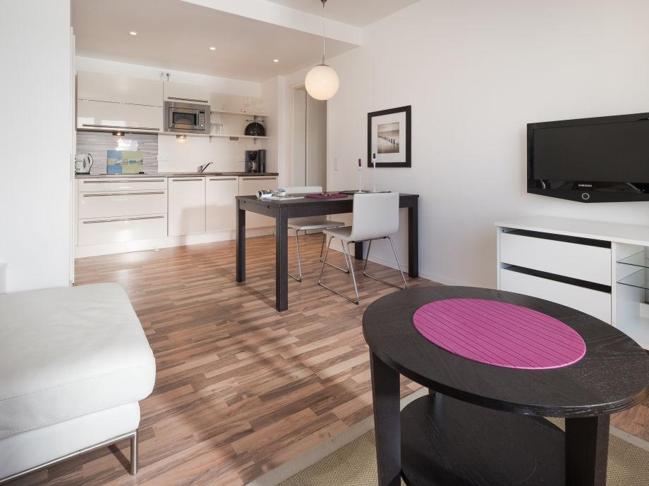 ferienwohnung d nensand wohnung d neninsel nordsee. Black Bedroom Furniture Sets. Home Design Ideas