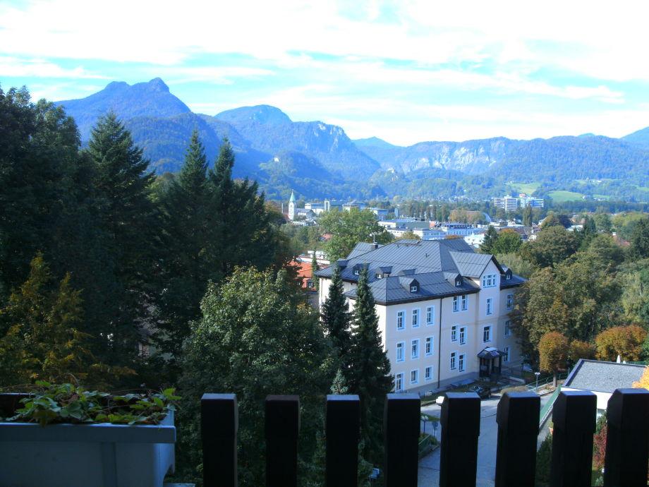Blick vom Wohnzimmer-Balkon