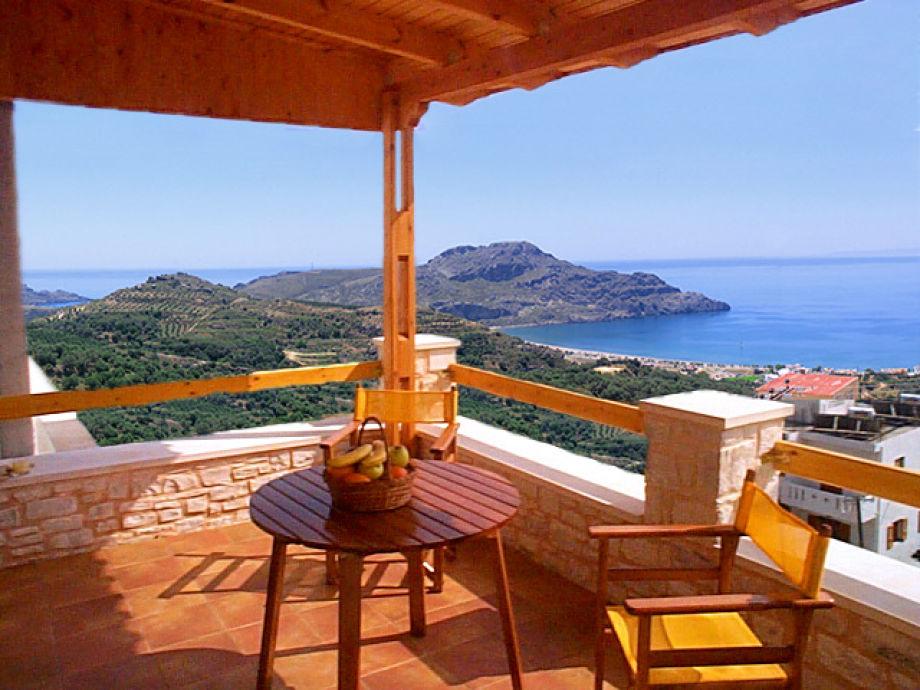 Ausblick auf die Bucht von Plakias