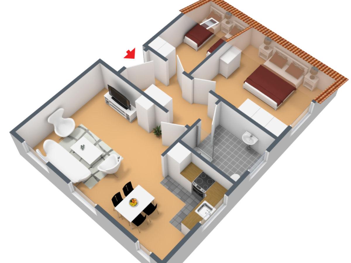 ferienwohnung jantje gelegen im ferienhaus mien hus norddeich firma dr h vener nachf gmbh. Black Bedroom Furniture Sets. Home Design Ideas
