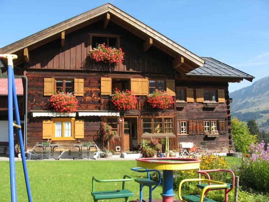 Ferienhaus Kessler im Sommer