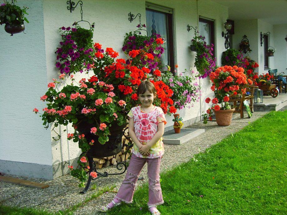 Blumenschmuck lieben wir