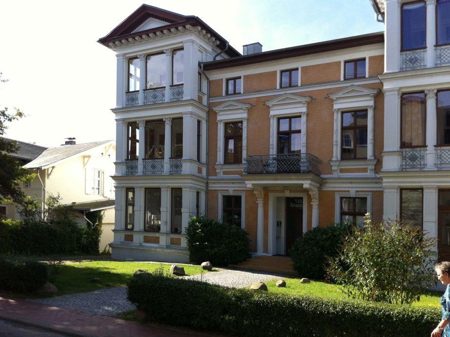 Außenaufnahme Villa Kramme - 42qm Ferienwohnung - strandnah & zentral