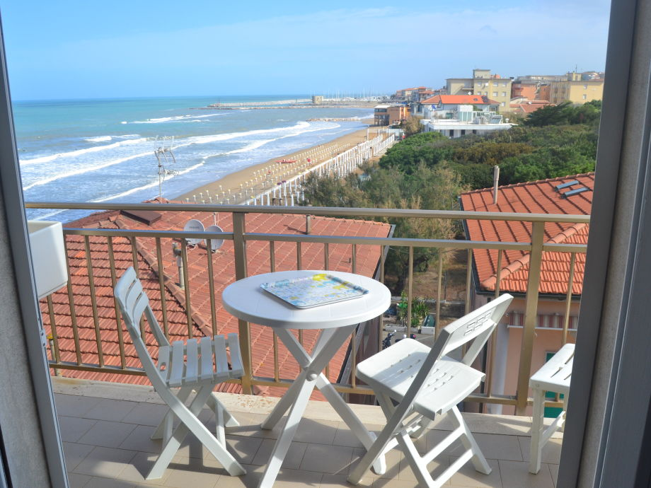 balcony with amazing view