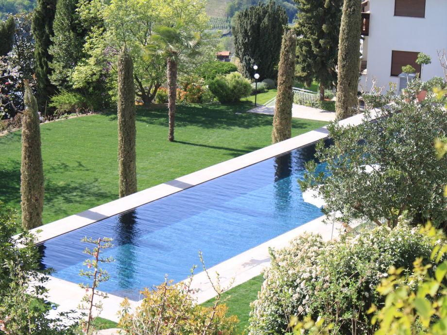 Ferienwohnung passer haus bachmair meraner land for Garten pool 2 5m