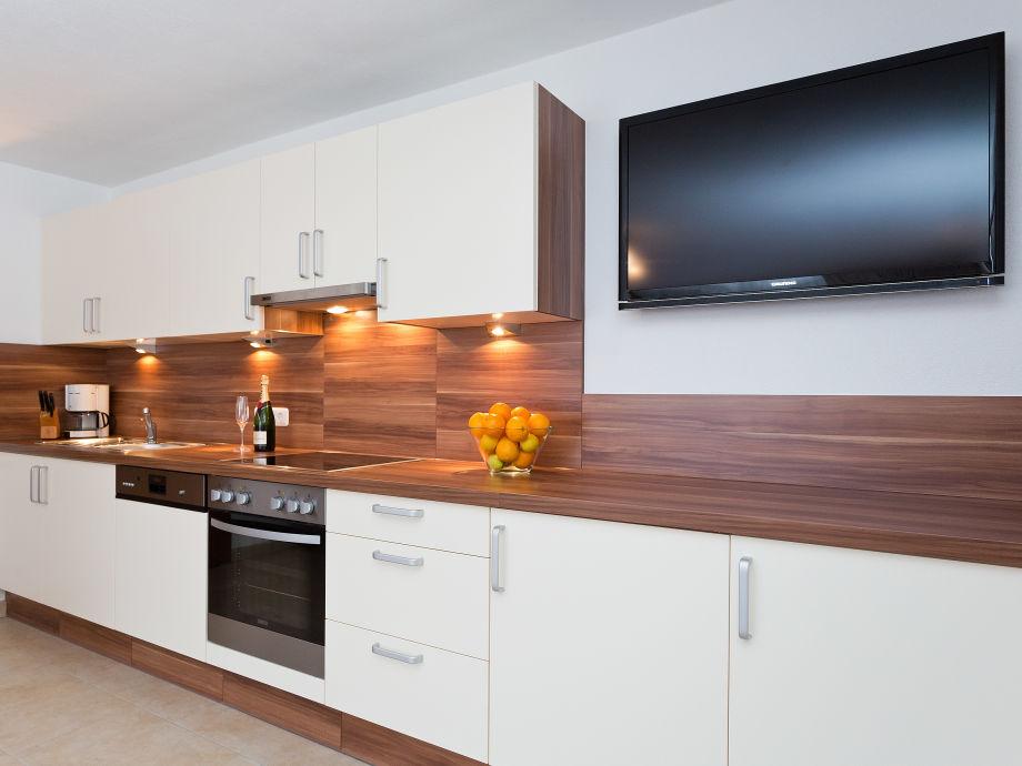 Moderne Küche in unserem Familienap. maxi 90m2