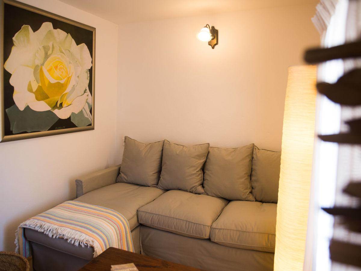 Ferienhaus casa moli mallorca s den frau heike fr mmter for Schlafsofa mit kaltschaummatratze
