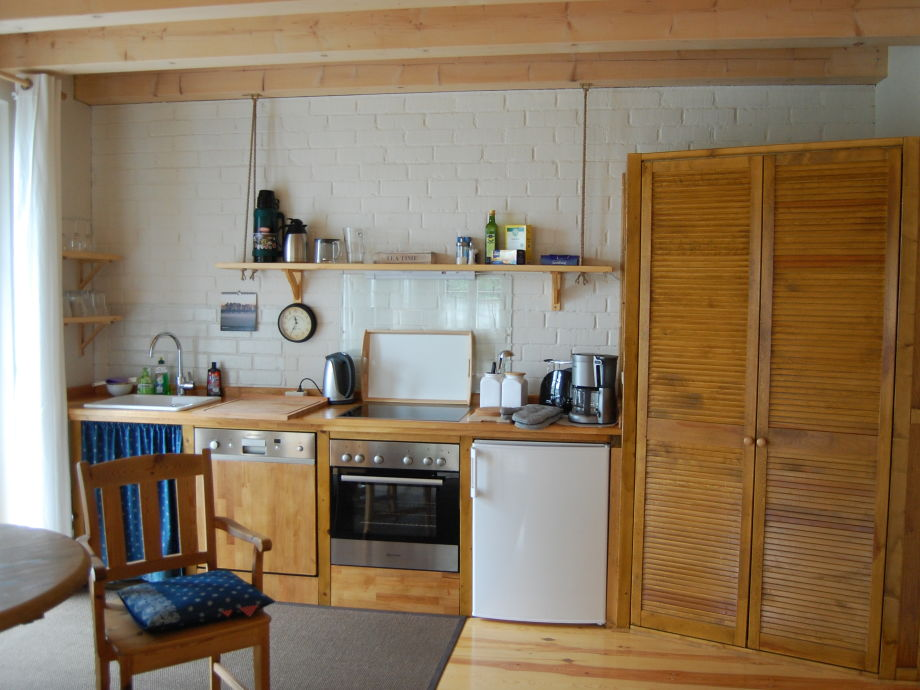 Kchenzeile Im 30qm Grossen Wohnzimmer