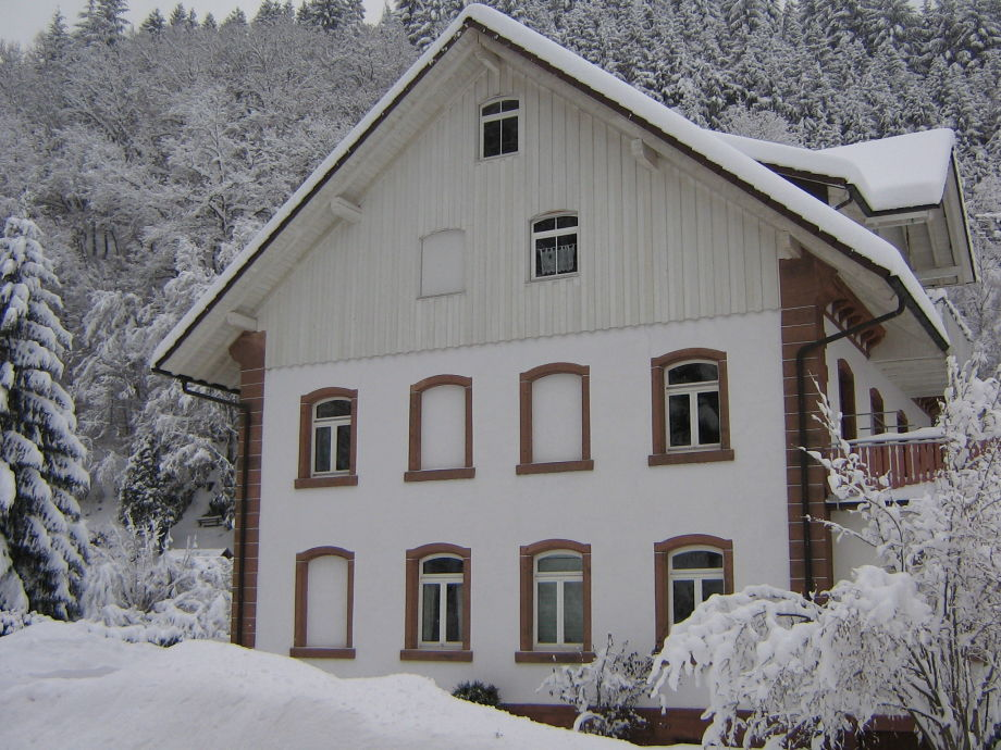Alte Seebachschule im Winter