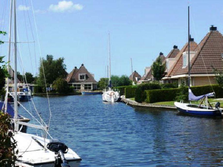 Ferienhaus am Wasser Woudsend
