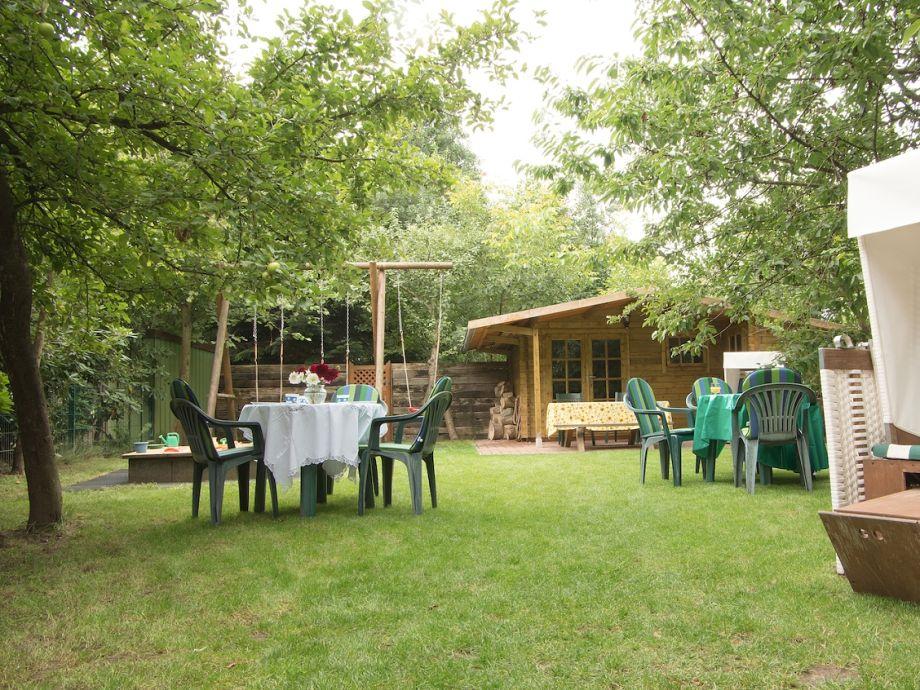 Ferienhaus mit Garten in Duhnen