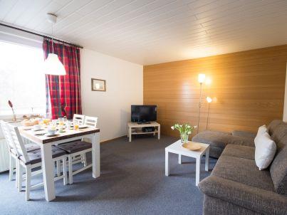 strandnahe 2-Raum Ferienwohnung mit Balkon