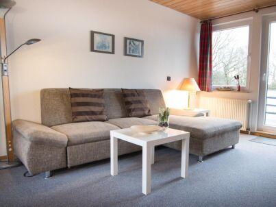 Kurgebiet Duhnen: 3-Raum-Ferienwohnung mit Balkon