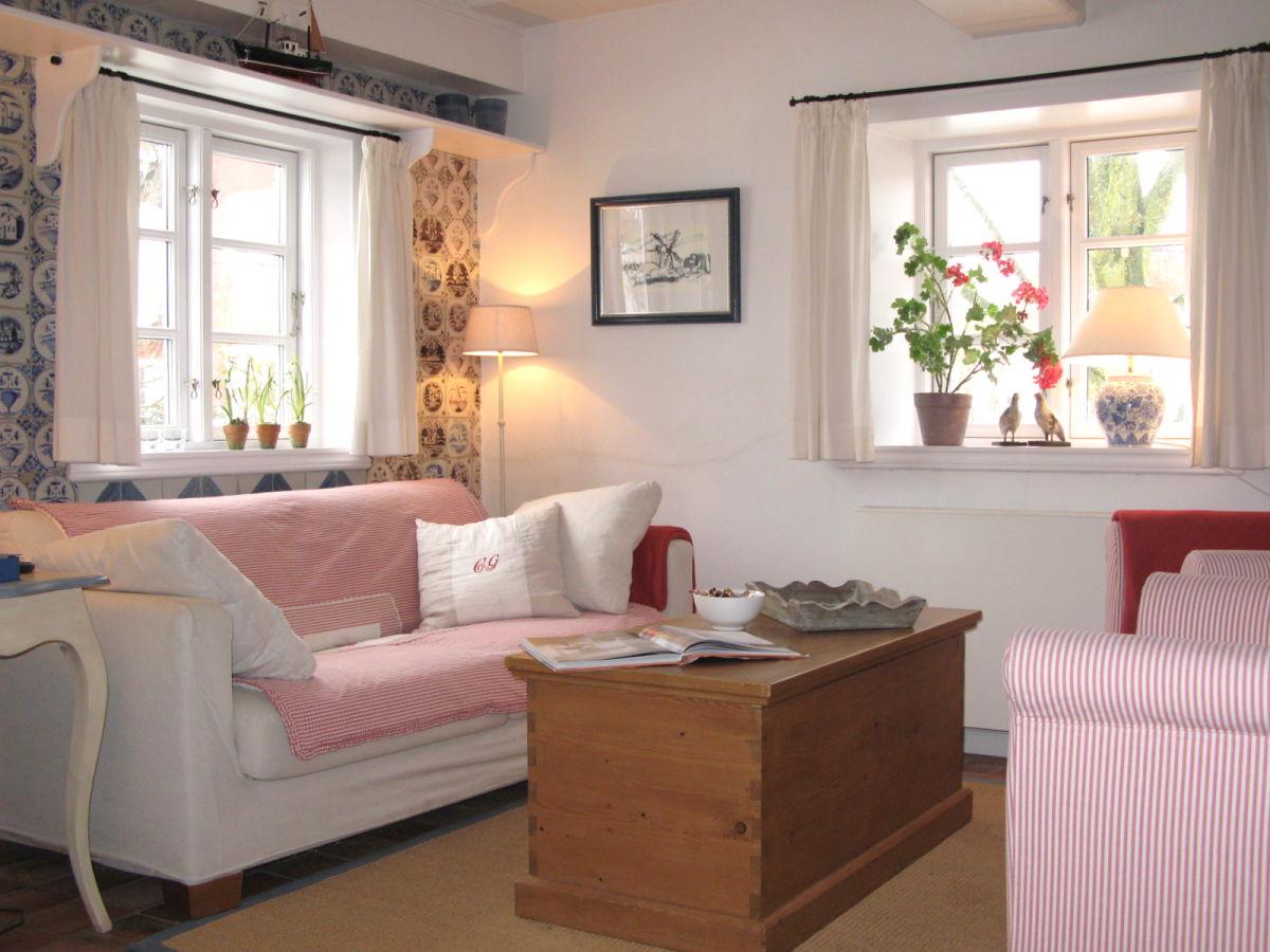 Ferienwohnung san auer neebel 2 nordsee nordfriesische for Wohnzimmer wohnung