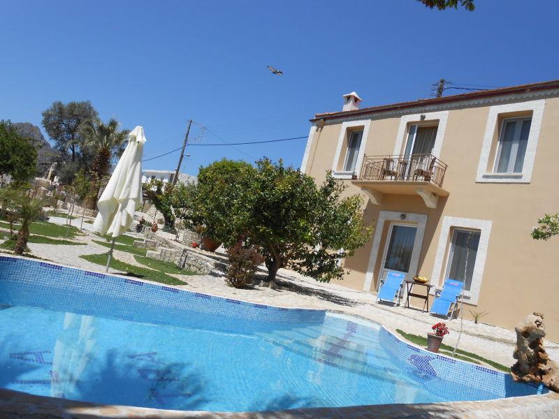 Authentische kretische Villa mit Pool