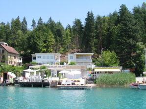 Ferienwohnung Villa Bianche im Holzhaus