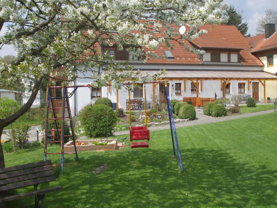 Haus von der Hofseite