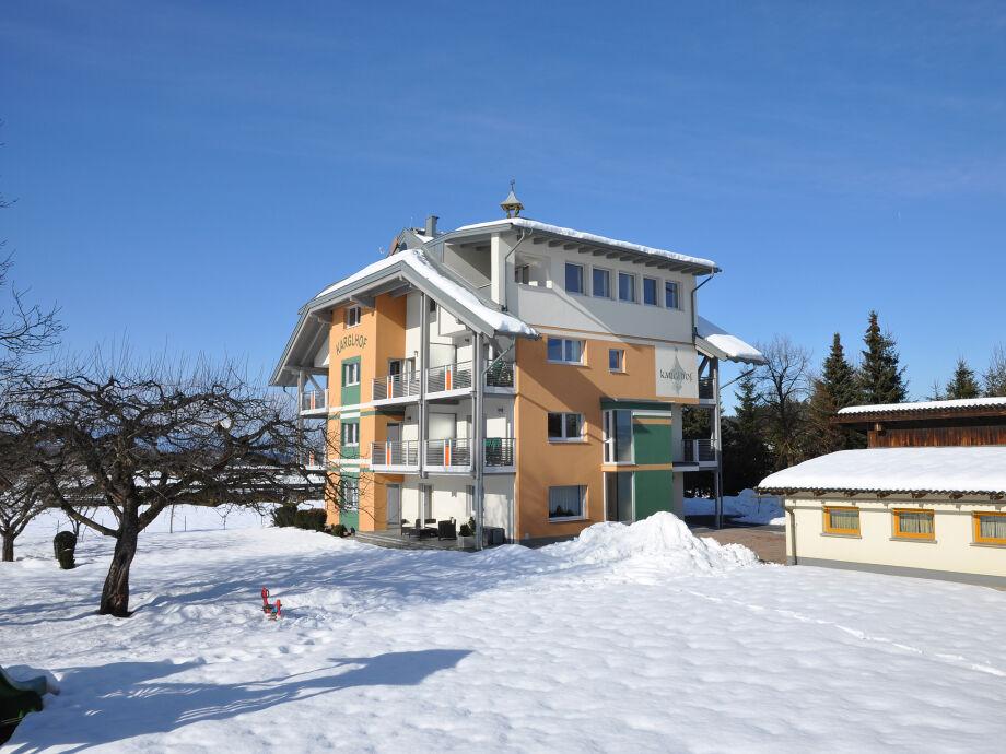 Ferienwohnung Karglhof Stammhaus - im Winter