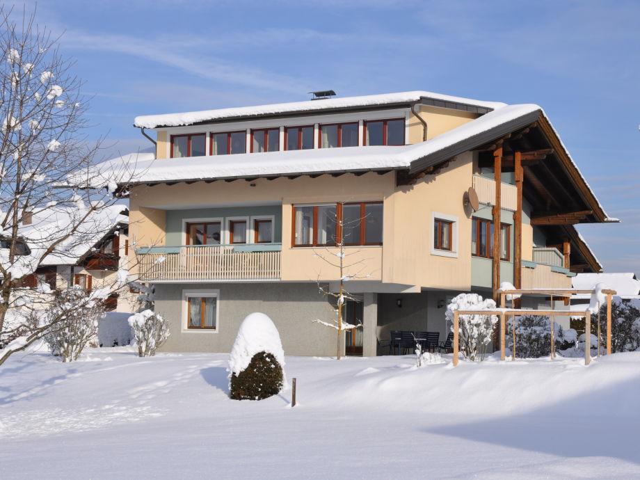 Ferienhaus Villa Karglhof - im Winter