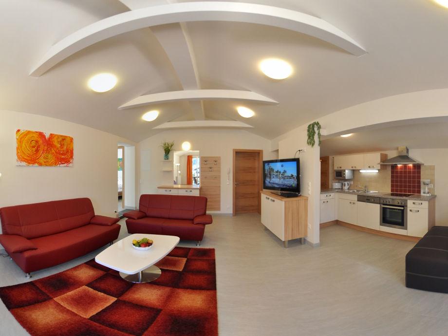 Suite Karglhof - geräumiger Wohnbereich