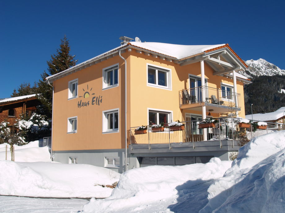 Haus Elfi, Winter