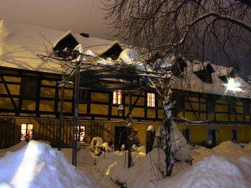 Kastanienhof Dresden Bühlau-Ferienwohnung im Fachwerkhaus