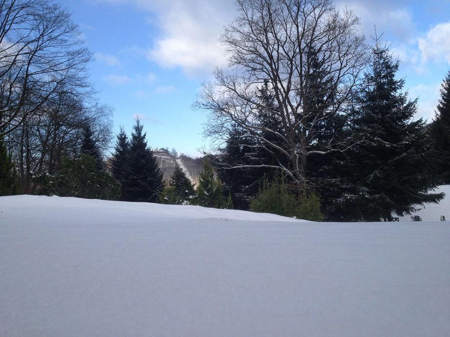 Außen im Winter