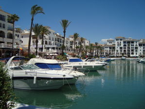 Ferienwohnung mit Meerblick an der Costa del Sol