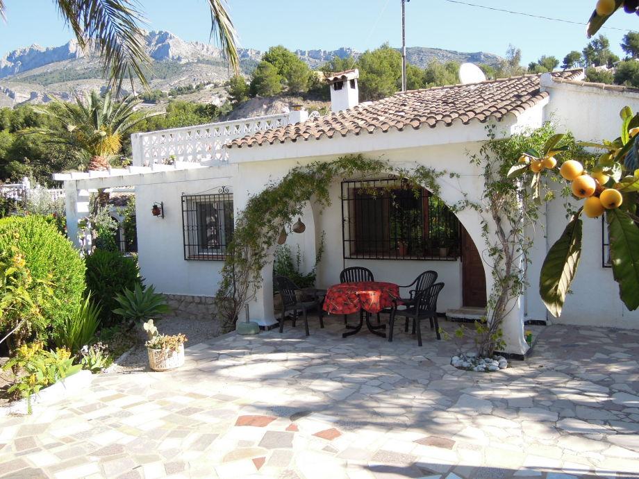 Casa Pasiflora vordere Terrasse